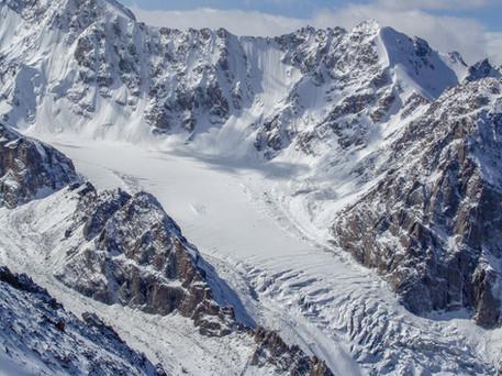 Ak-Sai glacier, Kyrgyzstan