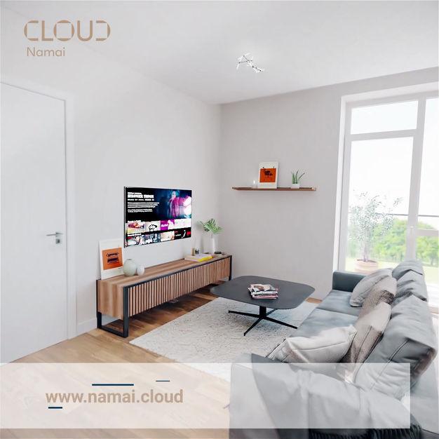 """""""Cloud namai"""" 3D animation"""