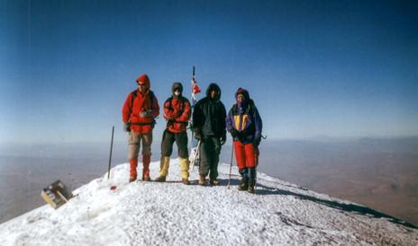 On the top of mount Ararat, 2007