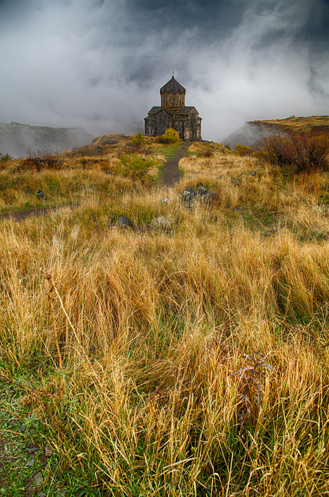 Vahramashen church in Amberd, Armenia