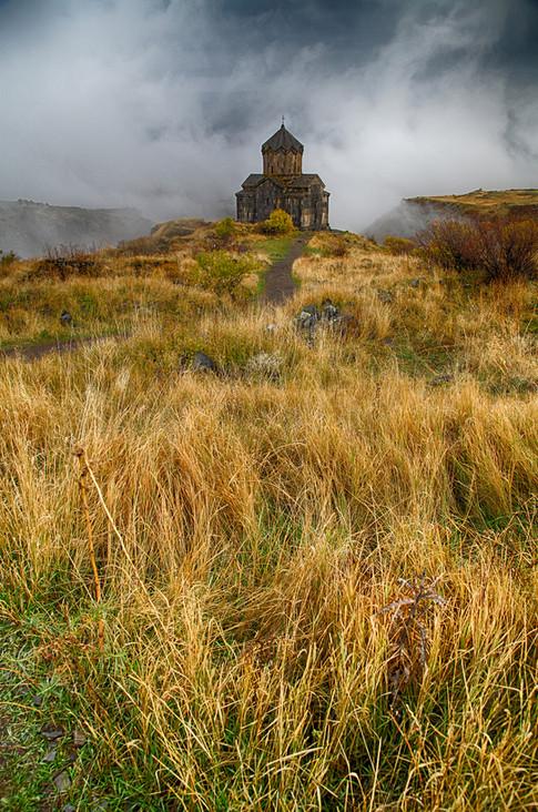 Vahramashen church in Amberd, Armenia