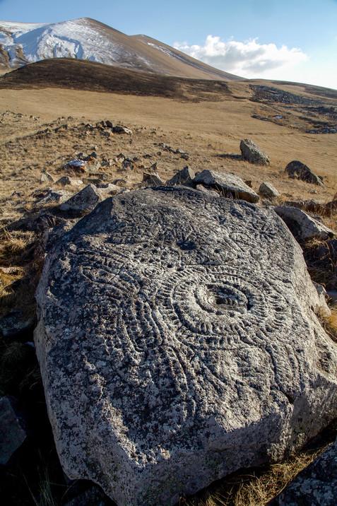 Sevqar petroglyphs (observatory), Armenia