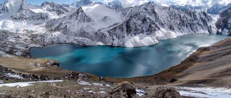 Lake Ala-Kul, Terskey Alatau, Tien-Shan, Kyrgyzstan