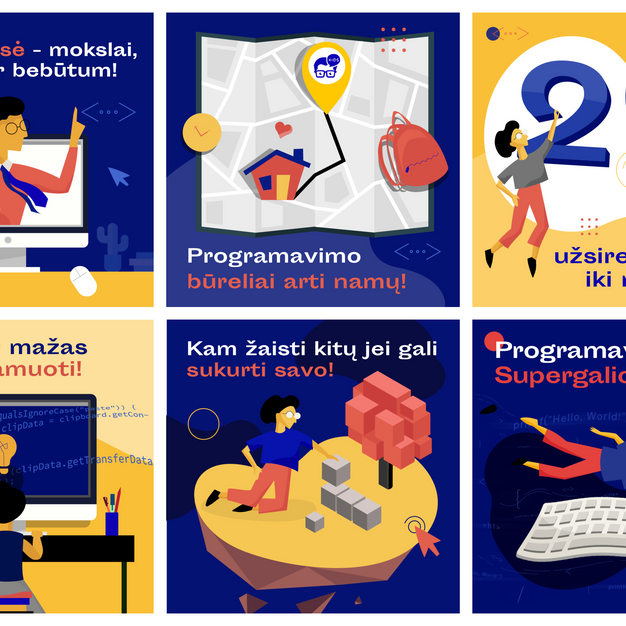 Code Academy illustrations