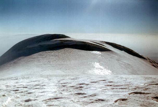 The summit of mount Ararat