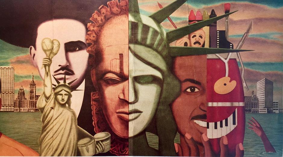 Mural by Reynaldo Hernandez
