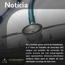 Justiça mantém justa causa de trabalhador que usou atestados médicos falsos.
