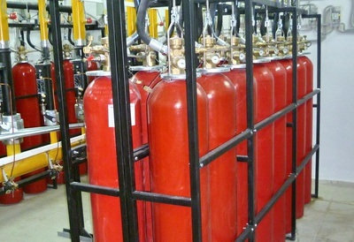 Батарея газового пожаротушения LPG (Хладон 125, Хладон 227еа)
