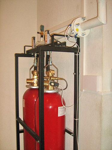 Модули газового пожаротушения ИСТА (Хладон 125, 227еа, 318ц, ФК-5-1-12)