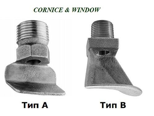 """Ороситель дренчерный WINDOW Мод.В, 3/4""""NPT, К=82 (123, 177), вниз, водяной"""