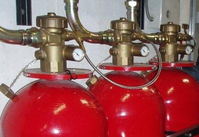 Модули газового пожаротушения ИСТА с контролем веса (Хладон 23)