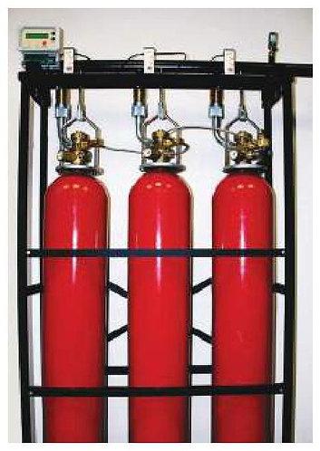 Модуль газового пожаротушения LPG с контролем веса (Хладон 23)