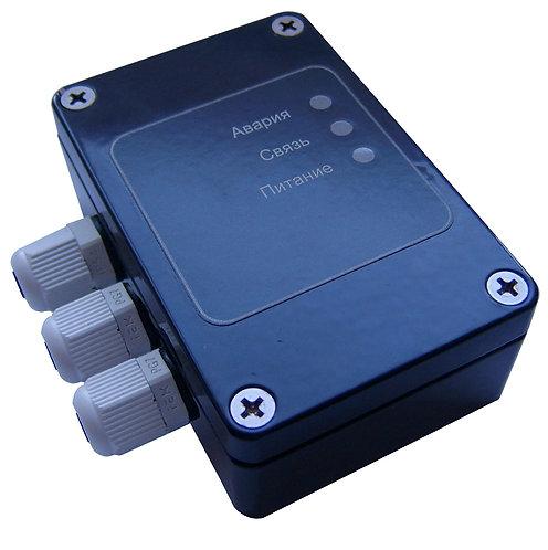 Устройство управления адресное в корпусе G103 с платой без кронштейна и датчиков