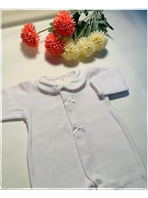 Pyjama blanc mixte