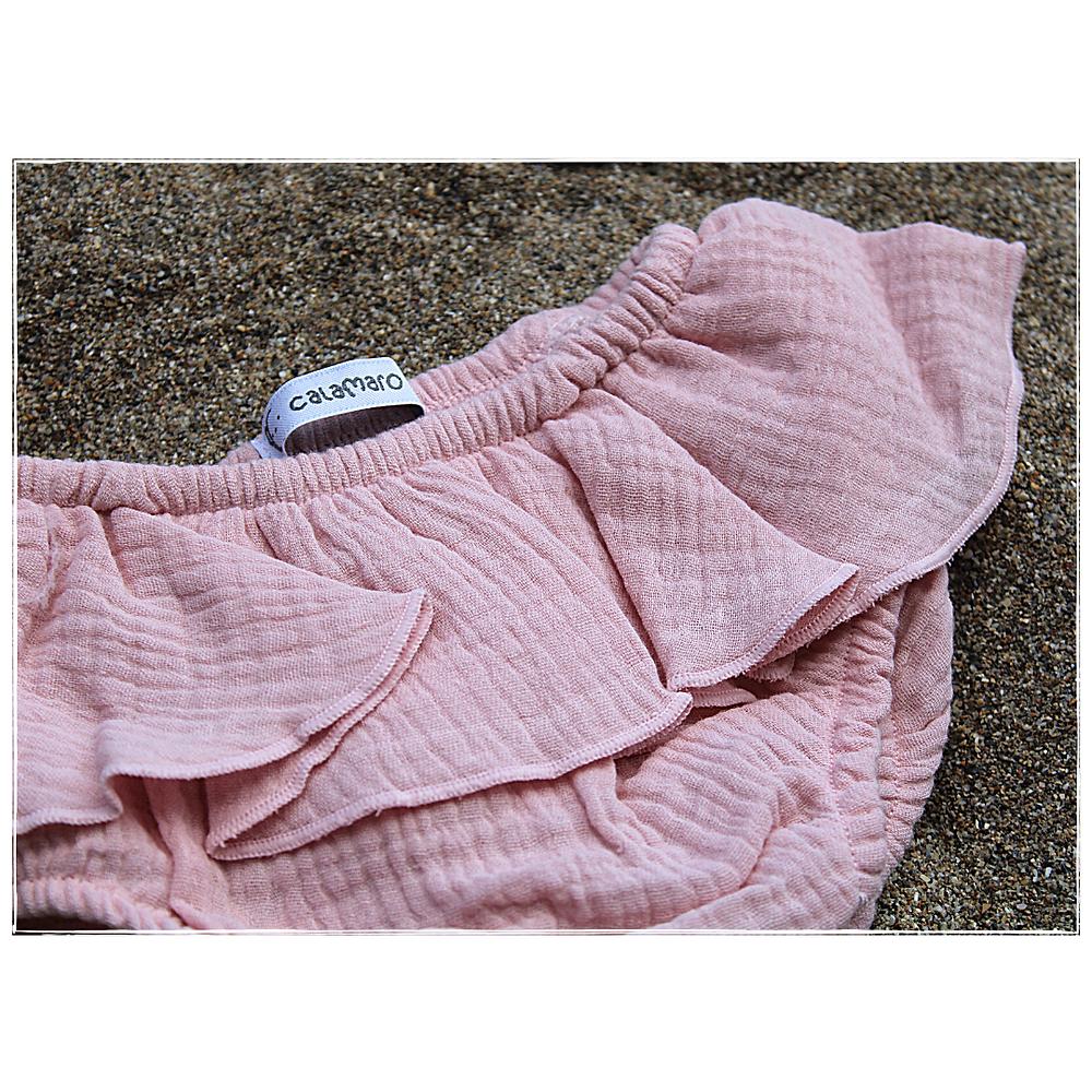 Bloomer en gaze de coton, de la marque Calamaro baby