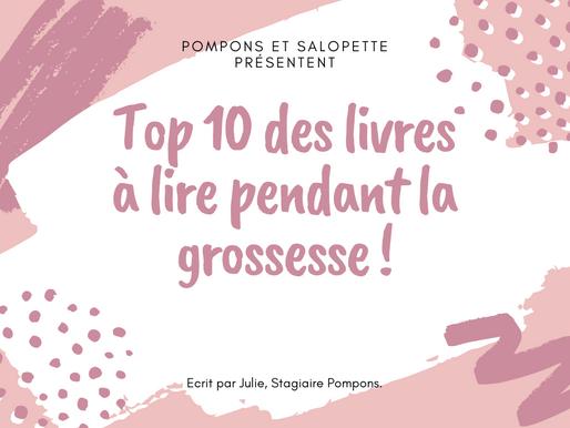 TOP 5 DES LIVRES à LIRE PENDANT LA GROSSESSE !