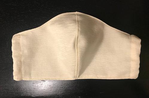 Cream Face Shield