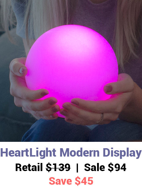 HeartLight Modern Display - Deposit