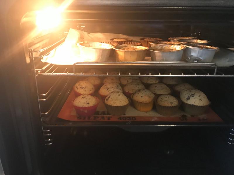 cuisson de cookies et muffins