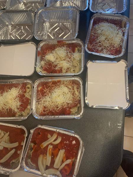 pâtes sauce tomate