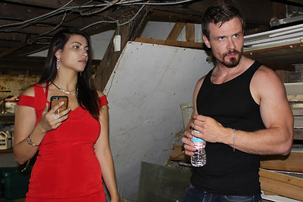 Monika and Ivan ready to act