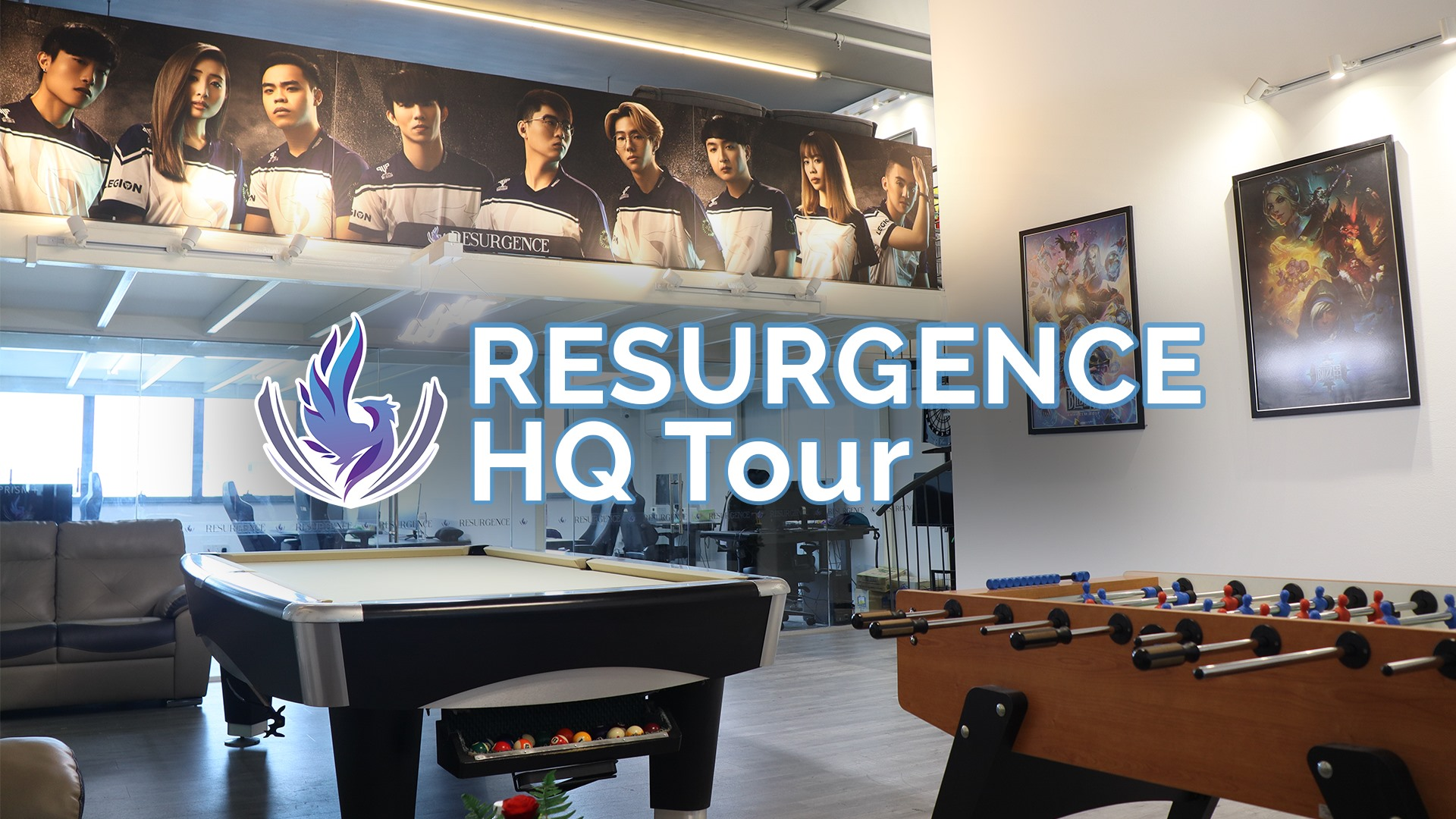 Resurgence HQ Tour