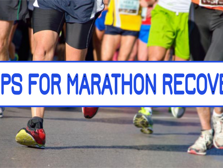 5 Tips To Recover From A Marathon