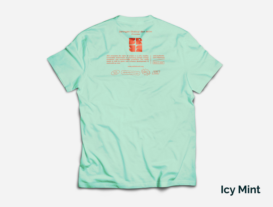 Icy Mint colour back