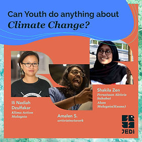 Can Youth do anything about Climate Change?