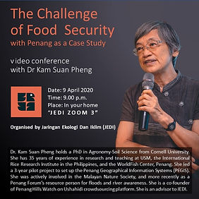 The Challenge of Food Security