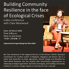 Building Community Resilience in the face of Ecological Crisis