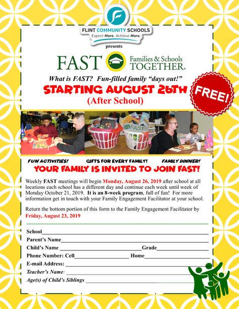 FAST Program Sign-Up Flyer 2019 Website.