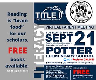 Potter 9-21-21 Parent Meeting