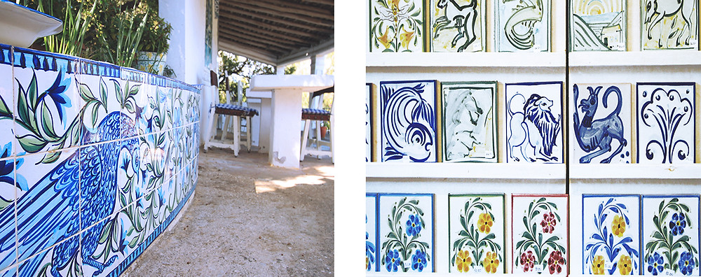 Tiles, ceramic and pottery from Porches Pottery in the Algarve
