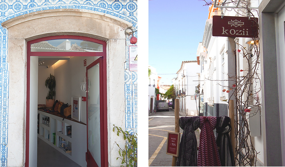 Shops in Tavira, concept store and handmade goods from Algarve