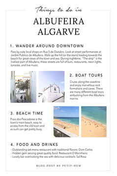 THINGS TO DO - ALBUFEIRA