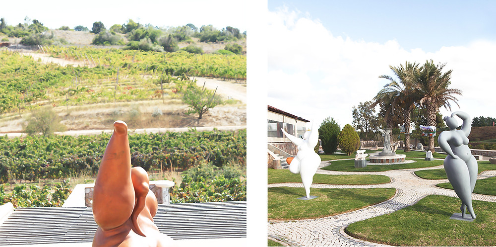 Art and Sculpture at Quinta dos Vales, Algarve