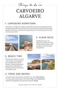 THINGS TO DO - CARVOEIRO
