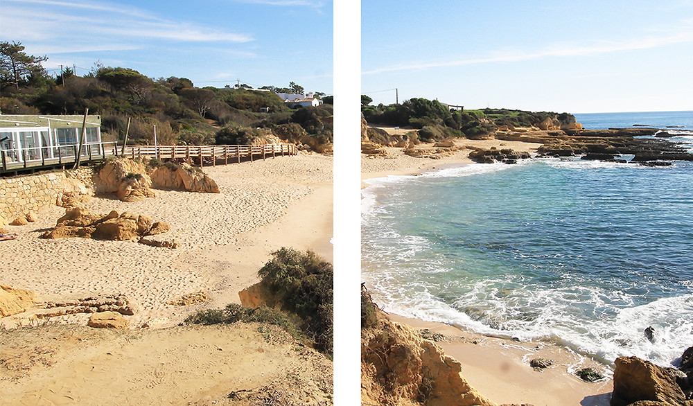 Amazing hidden beaches, caves and cliffs in Albufeira, Algarve