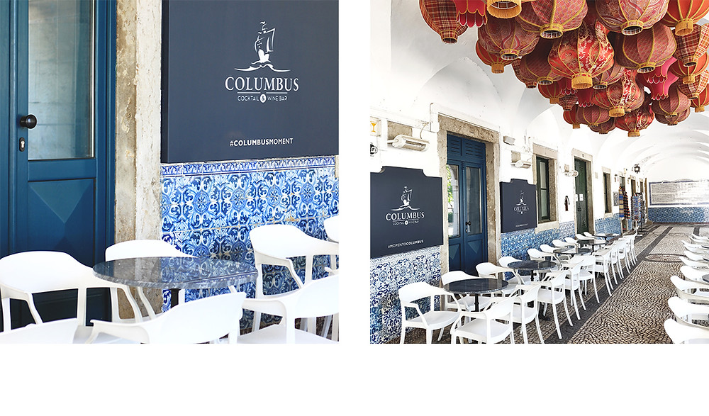 Columbus Bar in Algarve, everyone's favorite cocktail bar, a beautiful spot with a great vibe
