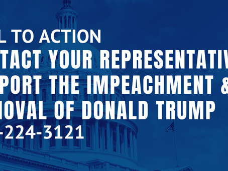 Call to Action: Impeach Donald Trump