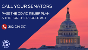Call to Action: Pass the COVID Relief Plan & the For The People Act