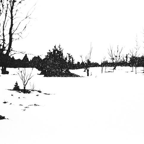 The Field, Winter, SOLD