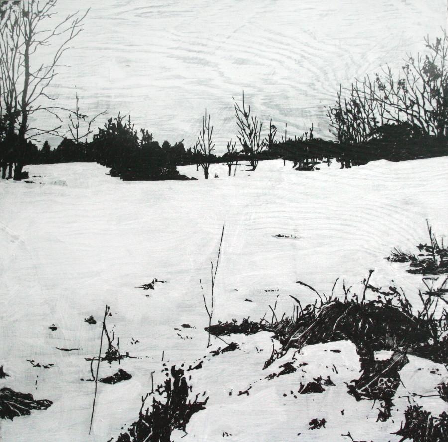 Land Study 1, Winter, SOLD
