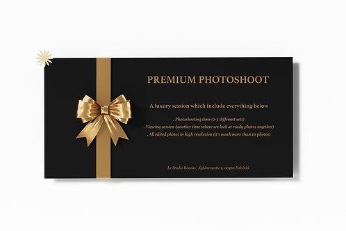 Premium photohoot