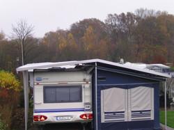 Vorzeltschutzdach und Carport