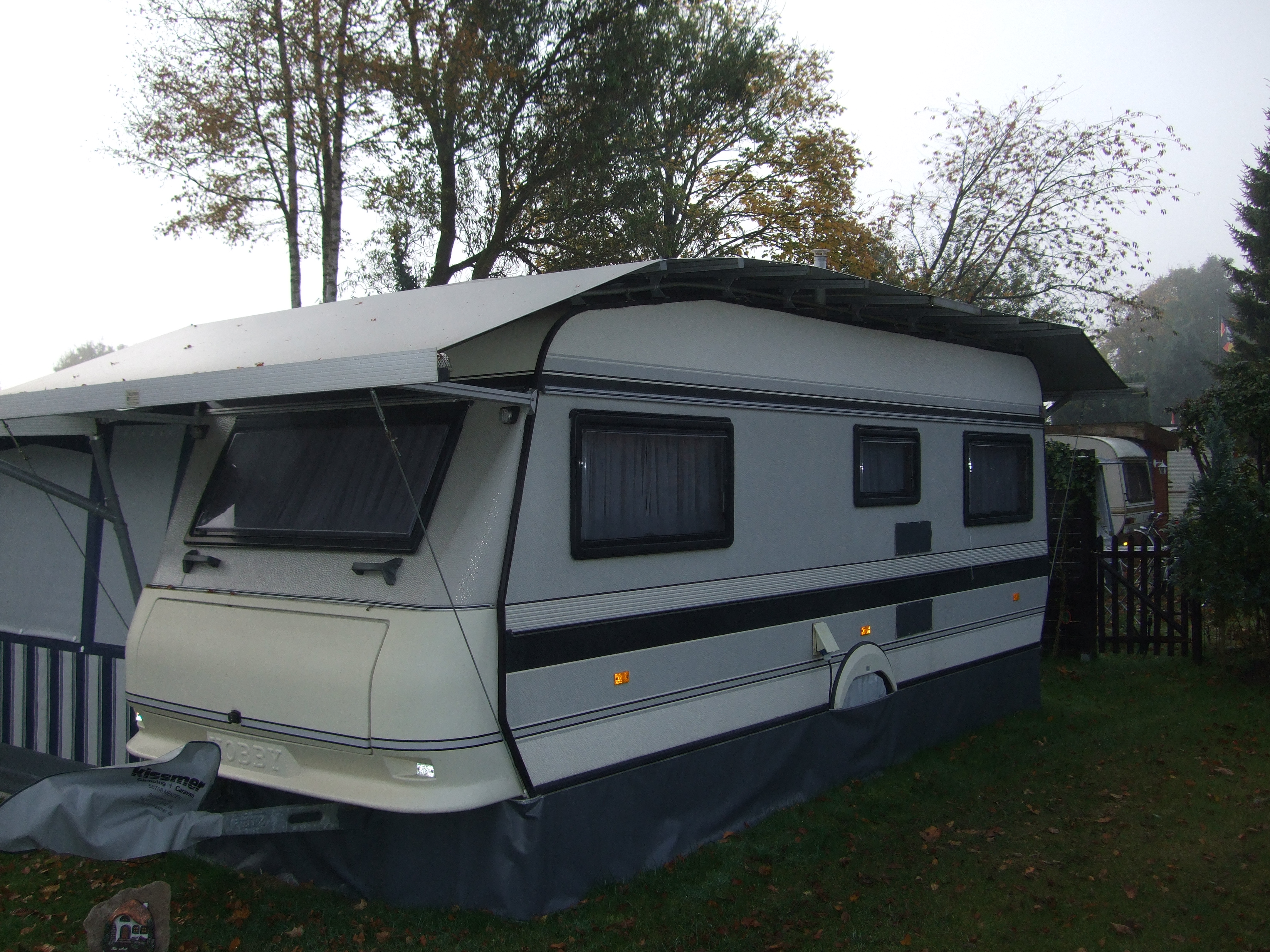 Schutzdach Caravan