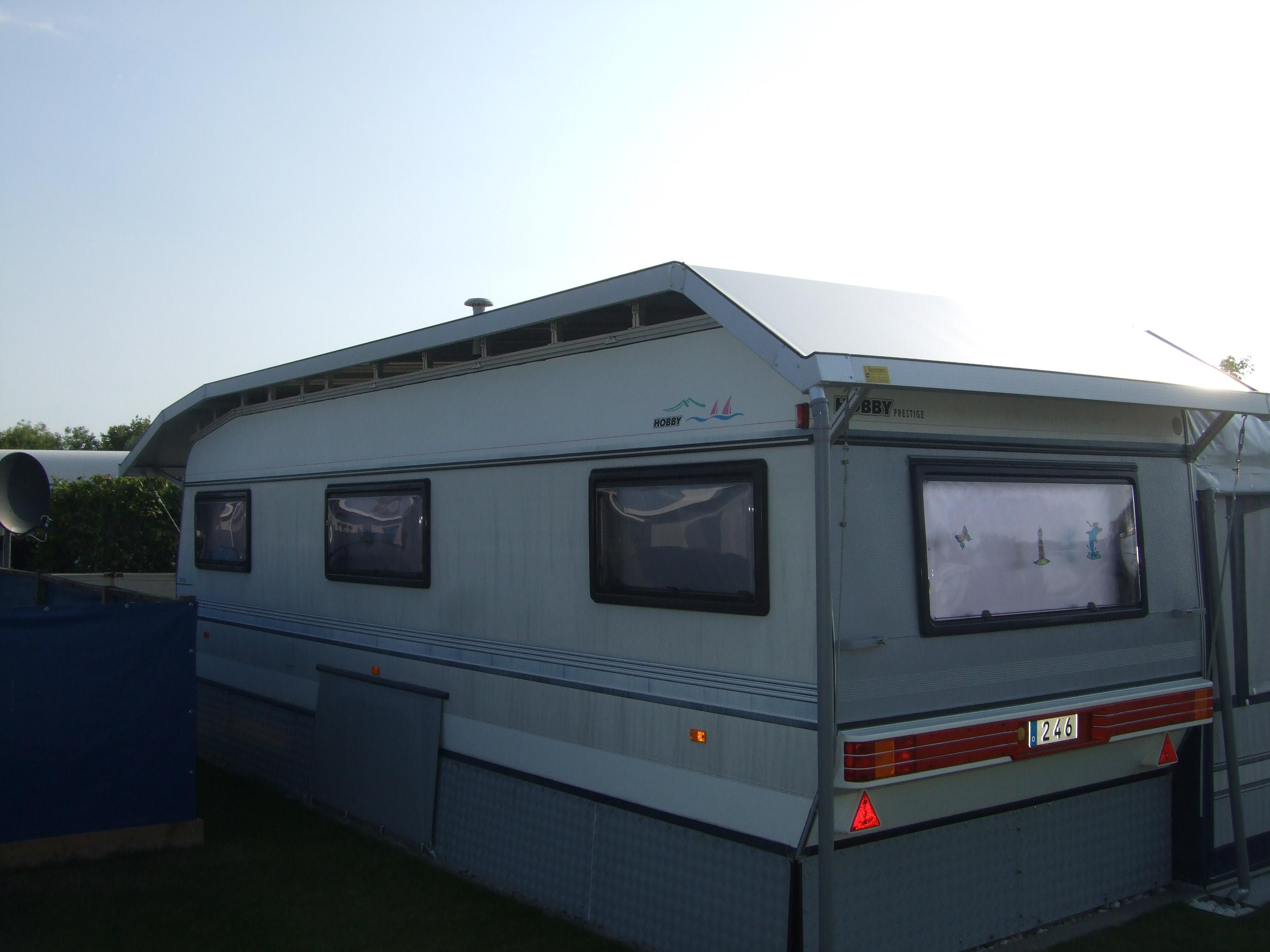 Wohnwagenschutzdach