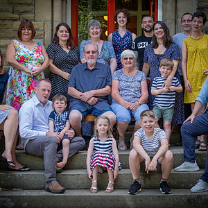 The Ilkely family gathering August 2018