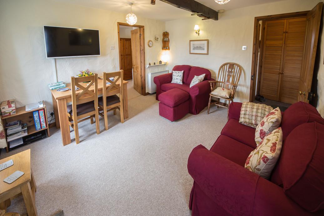 Living room, The Shippon
